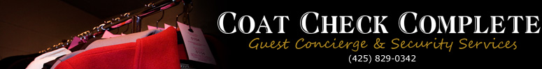 Coat Check Complete Guest Concierge & Security Services